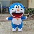 1pcs anime Doraemon character Mascot costume toy in box via EMS.