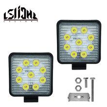 LSlight 427W LED Work Light 12V 24V 4X4 offroad Car boat Truck ATV Tractor Auto Led Bar Spotlight Flood Beam Lamp