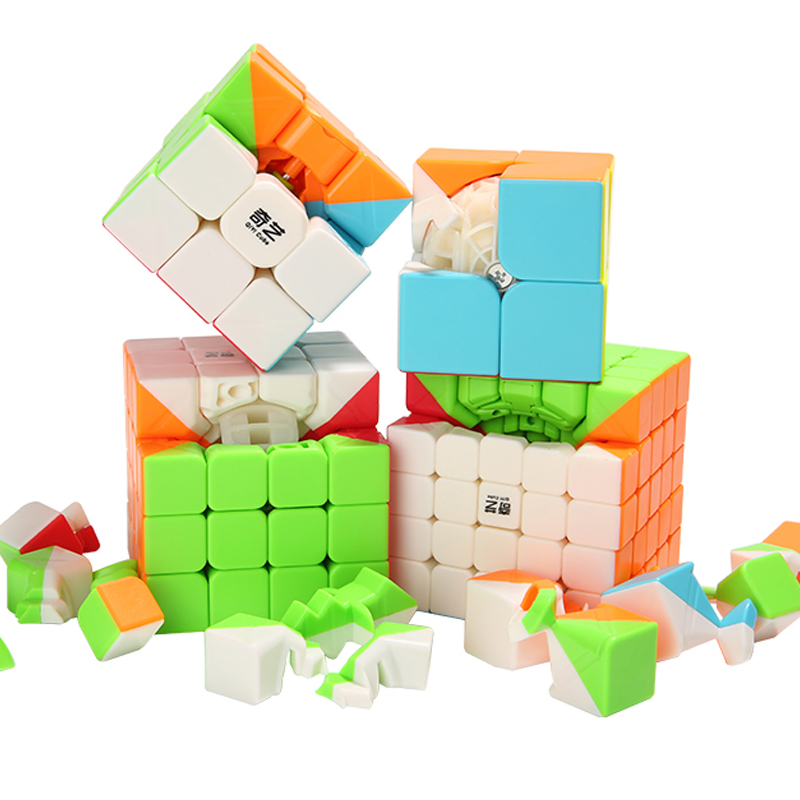 2x2x2 3x3x3 4x4x4 Magic Puzzle Cube Children Toys Speed Cube Learning Educational Puzzle Magico Toys Magic Cube Kid brand new dayan wheel of wisdom rotational twisty magic cube speed puzzle cubes toys for kid children
