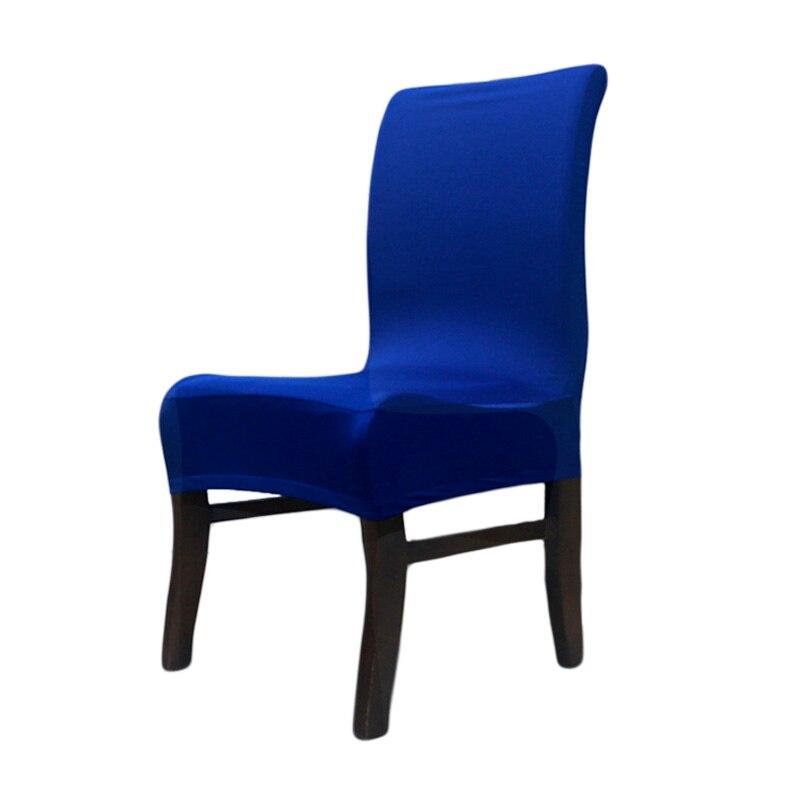 Caliente suave el stico polyester spandex comedor fundas para sillas s para la decoraci n del - Fundas asiento sillas comedor ...