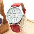 Simplestone Элегантный Аналоговый Роскошный Спортивный Кожаный Ремешок Кварцевые Мужские Наручные Часы oct18