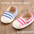New fashion stripe baby boy/girl prewalker sports shoes first walkers sapato bebe unisex baby toddler baby moccasins