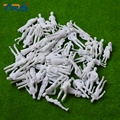 1/50 blanco figura para materiales de construcción modelo de arquitectura