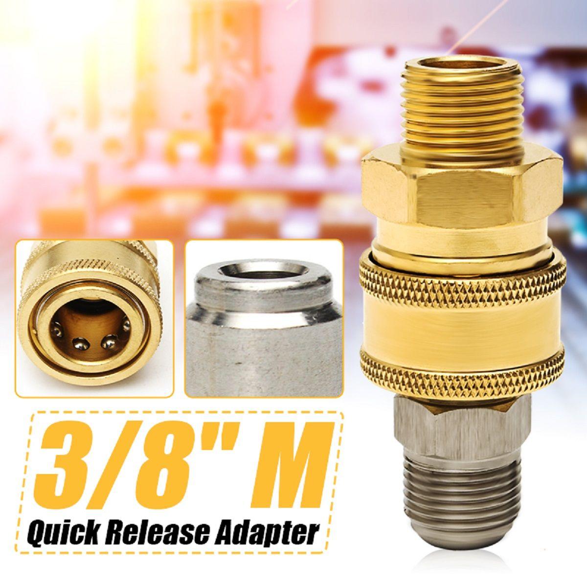 Pressure Washer Quick Release 14.8mm Coupling Male M18 Male Probe