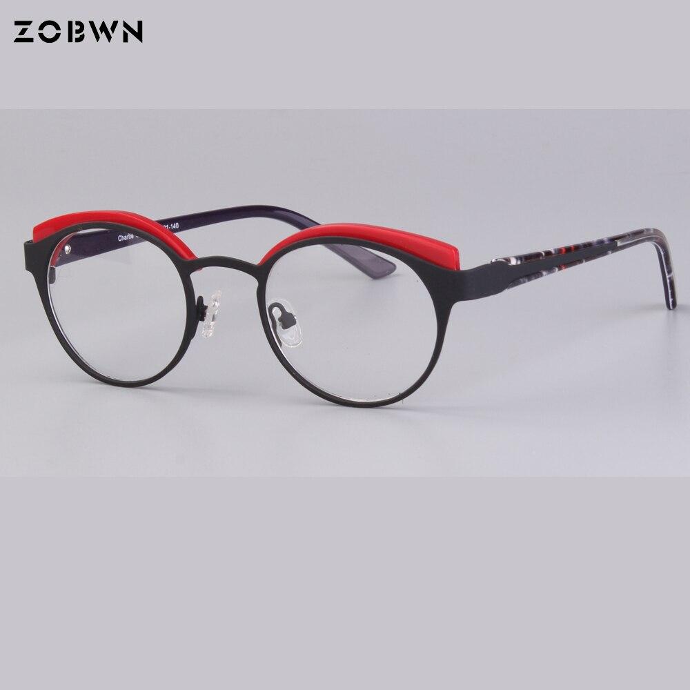 7e5c38fdb3 Wholesale round kids glasses harry potter style Optical Frames half frames  Eyeglasses Fashion boys Eyeglasses for children girls-in Eyewear Frames  from ...