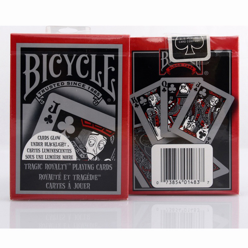 Bicycle TragicRoyalty Playing Cards 88*63mm Magic C