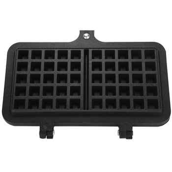 Dual Head Kitchen Gas Non-Stick Waffle Maker Pan Mould Mold Press Plate Baking Tool Bubble Egg Cake Oven Breakfast Machine