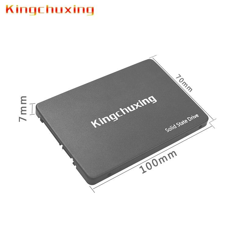 Kingchuxing SSD hard drive 256gb 1tb 60gb 64gb SATA3 2.5Inch pc laptop internal Solid State Drive Disk desktop computer TLC ssd