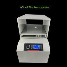 001 LCD Display Screen A4 Paper Flat Press Machine Invoice Documents File Nipping Machine Financial Receipt Flat Press Machine