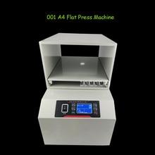 001 LCD Display Screen A4 Paper Flat Press Machine Invoice Documents File Nipping Machine Financial Receipt Flat Press Machine