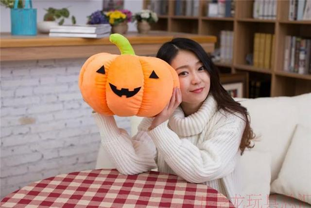 Criativo Halloween 1 pc 40 cm Abóbora travesseiro boneca de pelúcia almofada travesseiro para inclinar de presentes de aniversário criativas