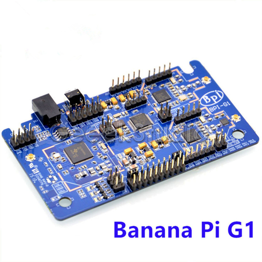Banana Pi G1 Gateway BPI-G1 Smart Home Control Center on-board WiFi Bluetooth Zigbee Open-source development board comfast full gigabit core gateway ac gateway controller mt7621 wifi project manager with 4 1000mbps wan lan port 880mhz cf ac200