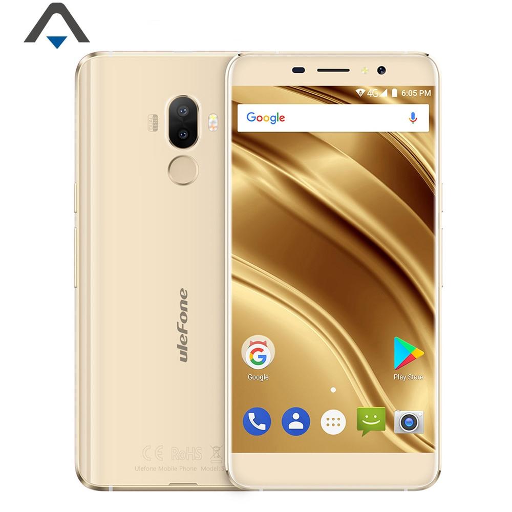 Original Ulefone S8 pro 4G LTE smartphone MTK6737 RAM 2GB ROM 16GB Quad Core 5.3 inch 720P HD Android 7.0 3000mah celular OTG