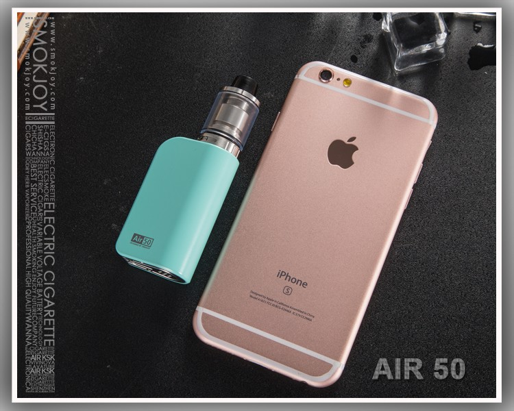 US $29 9 |Electronic Hookah Cigarette Air 50 Mini Box Mod Vape 1200mAh Temp  Control E cigarettes Battery 50W Vaporize not include atomizer-in