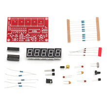 High Quality 1Hz-50MHz Crystal Oscillator Frequency Counter Meter 5-Digital LED Display Kit стоимость