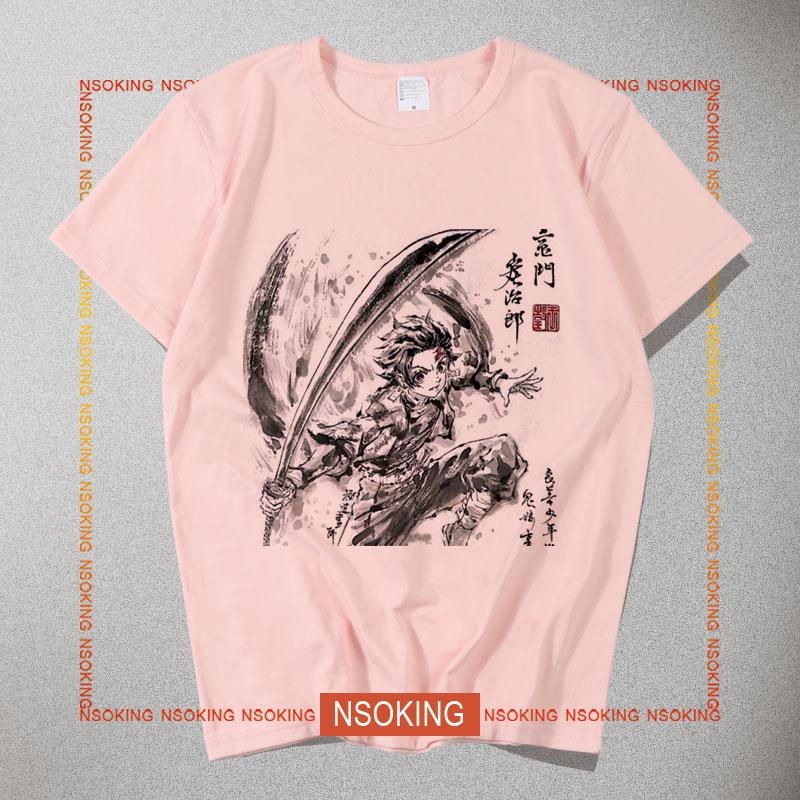 鬼灭之刃新T恤模板010