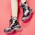 2017 nova mulheres Floral Martin chuva botas de moda feminina botas curtas slip non-slip confortável com tamanho grande de água sapatos