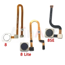 Aiinant Original Back Home Button Fingerprint Sensor Flex Cable For Xiaomi Mi 8 8SE SE Lite