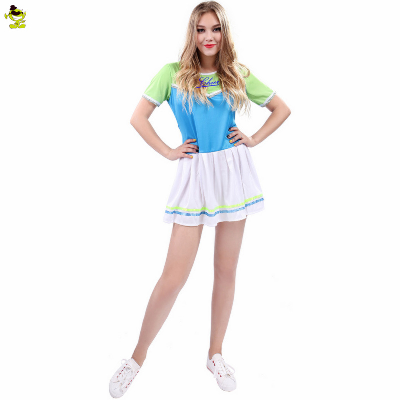 New Women's Arrivals Customized Costumes Popular Sexy Girl Harley Quinn Funny Cheerleader Costumes For Adult Anime Cosplay
