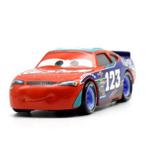 цена на Disney 2018 New Pixar Cars 3 Racing Center NO 123 Metal Diecast Toy Car 1:55 Loose Brand New In Stock Toy Car Gift For Kids