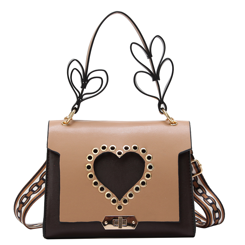 2018 New Arrival Small Women Shoulder Bag Heart strap Fashion Top Handbag High Quality Love Female Bag for Valentines Day 761