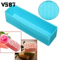 Rose Toast Silicone Soap Mold Loaf Cake Baking Bread Tools DIY Chocolate Mould Pastry Bread Cake Bakware Tools