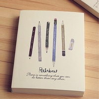 128 Sheets 256 Pages 16k B5 Thick Blank Sketching Graffiti White Paper Draft Sketch Notebook Sketchbook