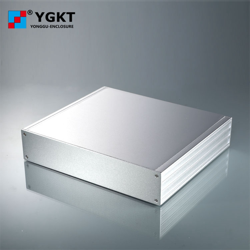 270*56-235 mm (W-H-L)aluminum shell/electronical junction box extruded aluminum enclosure control box/aluminum panels 1 piece free shipping aluminum enclosure project box extruded aluminum enclosures 46 h x66 w x100 l mm