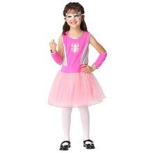 Halloween children Girl Dress spider Clothing Girls Cosplay Anime Spider Costume ek207