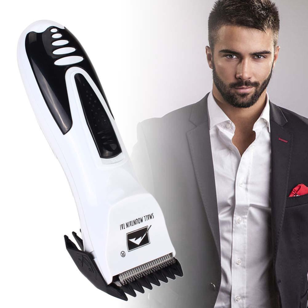 how to use hair clippers on beard