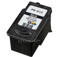 1PCS PG512 XL BlacK Refillable Ink cartridge for Canon PG 512 MP240 MP250 MP270 MP230 MP480 MX350 IP2700 P2702 High Quality