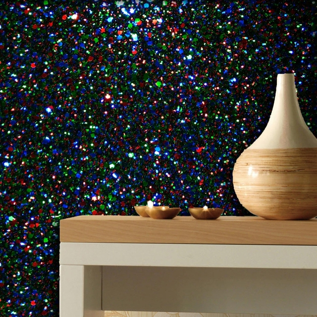 5m one roll 138cm width 3D chunky glitter wallpaper wall paper roll for  living room bed room free shipping wallpaper e0ab40f620d3