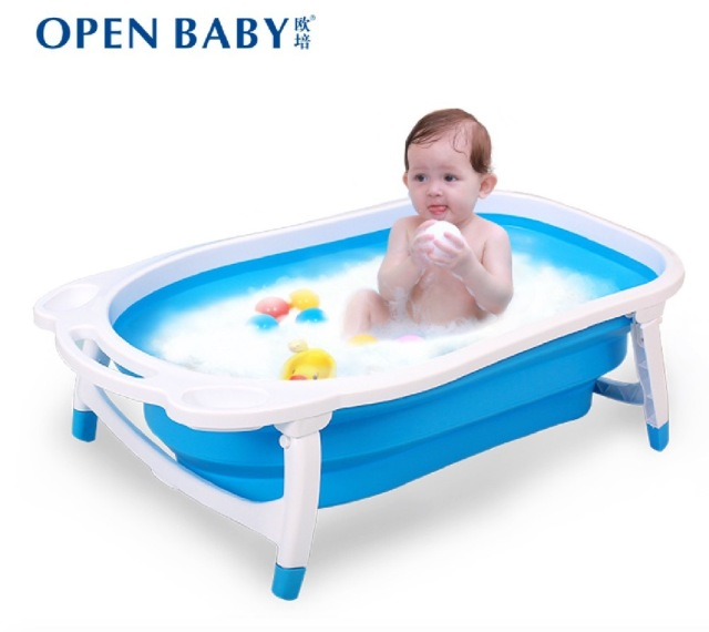 Size8047225cmSuit For 0 4 Years Old BabyNewborn Baby Bath SuppliesLarge Thick Collapsible