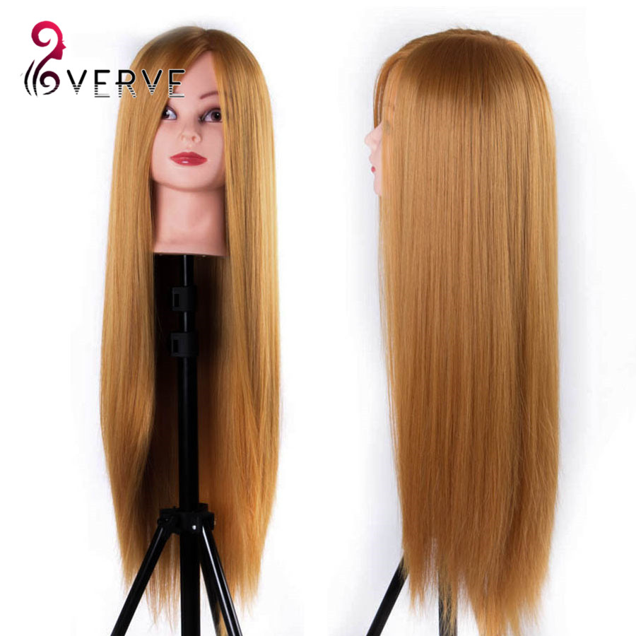 Professional 65cm hairdressing dolls head Female Mannequin Hairdressing Styling Training Head free part hair Mannequin Head