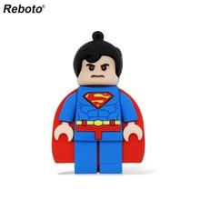 USB Flash Drive Superman U Disk 16GB 4GB 8GB Batman Memory Stick 32GB 64GB USB 2.0