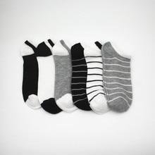 6pairs/lot Cotton Men's Socks Short Stripe Socks Ankle Invisible Socks Male Soft Breathable Casual Sport Socks Men Women цены онлайн