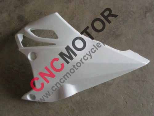 ФОТО Left side lower fairing for KAWASAKI Z1000 Z 1000 2010-2013 11 2012 Unpainted