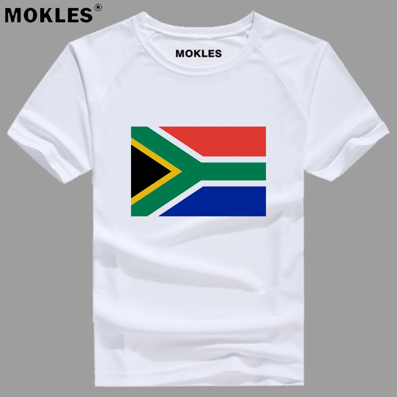 SOUTH AFRICA t shirt diy free custom name number zaf T-Shirt nation flag za afrikaans dutch country college print photo clothing