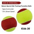 12 шт. для начинающих детей или взрослых тренировка (переход) тренировочные теннисные мячи (25%-75% медленная скорость мяча)