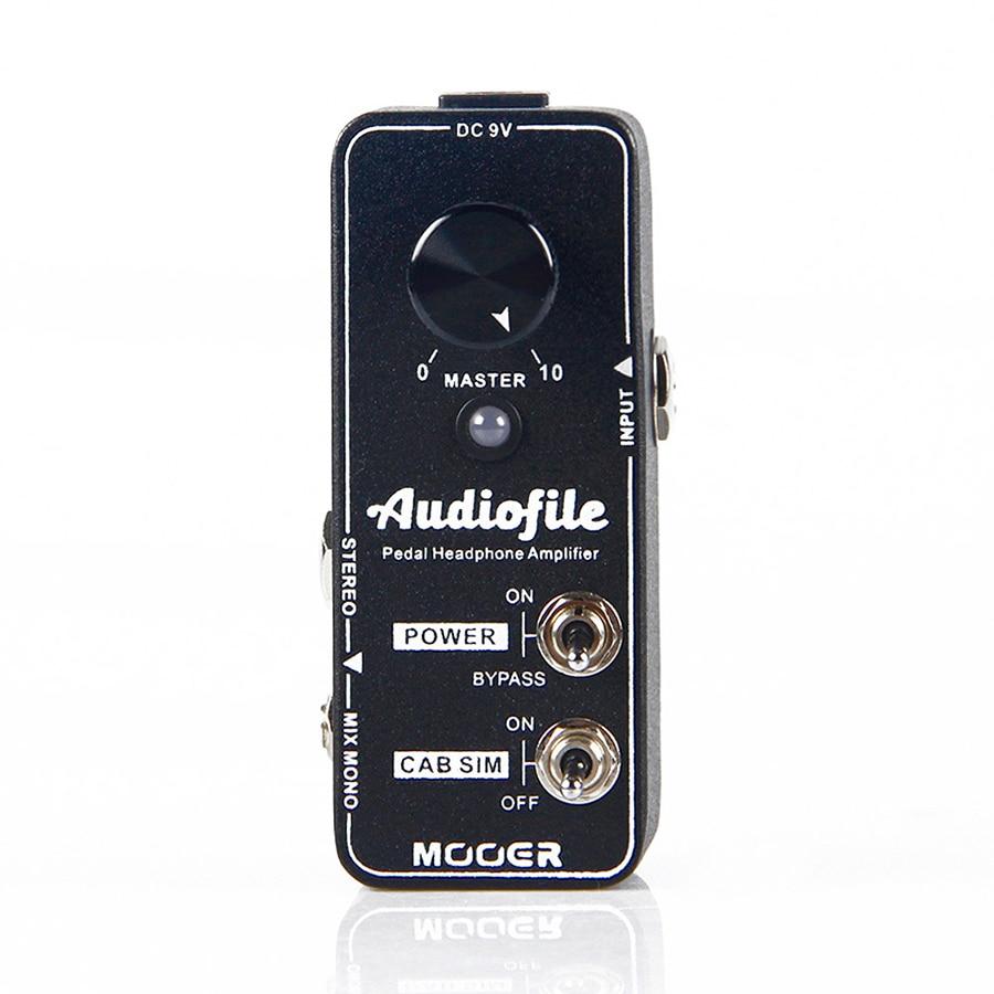 Accessoires guitare pédale de guitare MOOER pédale Audiofile amplificateur casque hifi qualité pedalboard amplificateur casque