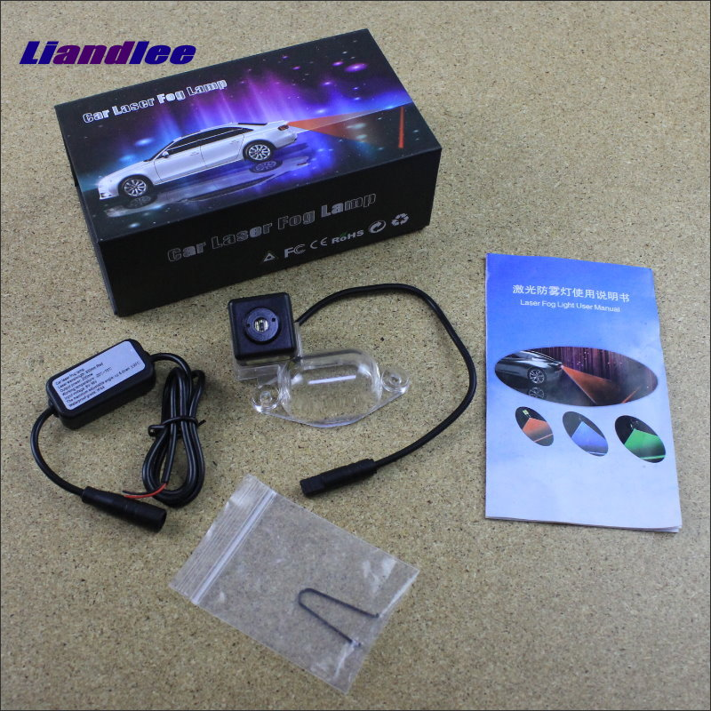 Liandlee Car Light For Mitsubishi Delica Laser Shoot Lamp Prevent Collision Warning Lights Fog Tail Decorative Light for volkswagen vw passat b5 magotan 1996 2010 car light prevent rear end collision warning light haze rain fog snow lights
