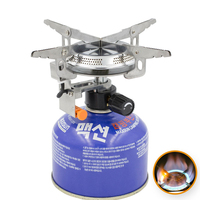 Outdoor Picnic Burners Foldable Camping Gas Stove And Equipped With Fire Starter Camping Equipment