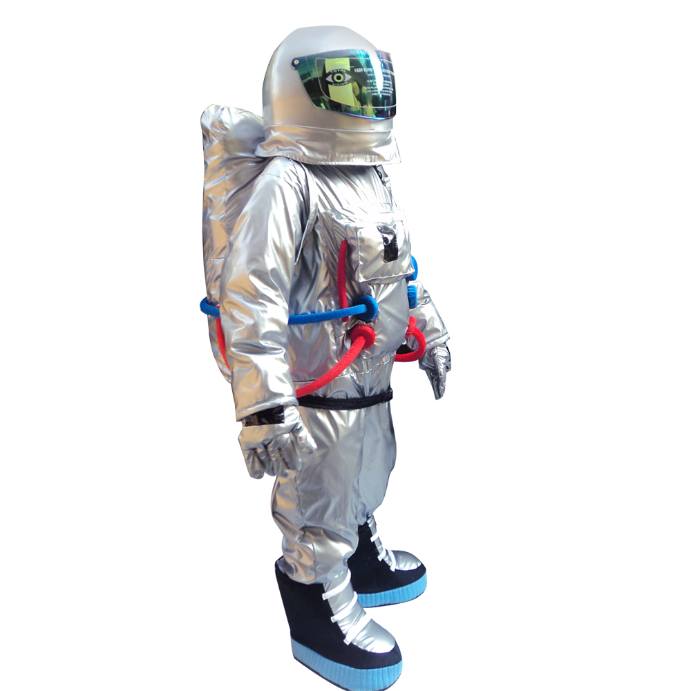Home Kind-Hearted Hot Space Suit Mascot Costume Astronaut Mascot Costume Aerospace Engineering Costume Universe Sandbox Costumes