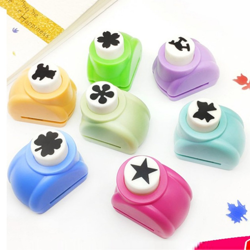 10 Pcs/lot Mini DIY Craft Scrapbooking Manual Embossing Device EVA Foam Paper Embossing Tools For DIY Gift Card Paper Punch