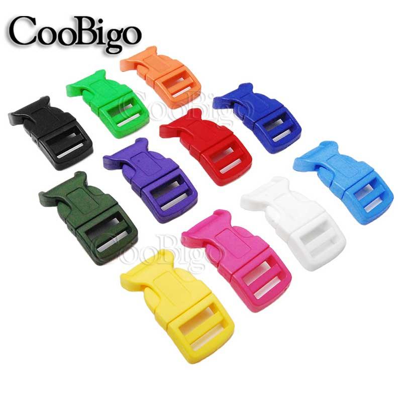 12mm Flat Side Release Mini Buckles for Paracord Bracelet,Backpack Bag