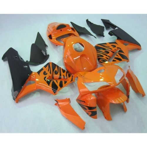 Инъекции Формованных оранжевый обтекатель комплект кузова для Honda CBR600RR 2005 2006 F5 и 11Б