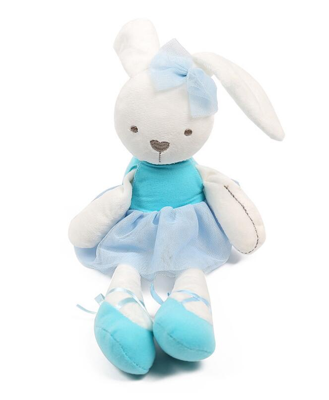 Mother & Kids Baby Bedding Cute Easter Bunny Soft Plush Rabbit Stuffed Animal Toy Appease Baby Bed Pillow Toy Kids Baby Girl Kid Baby Birthday Gift