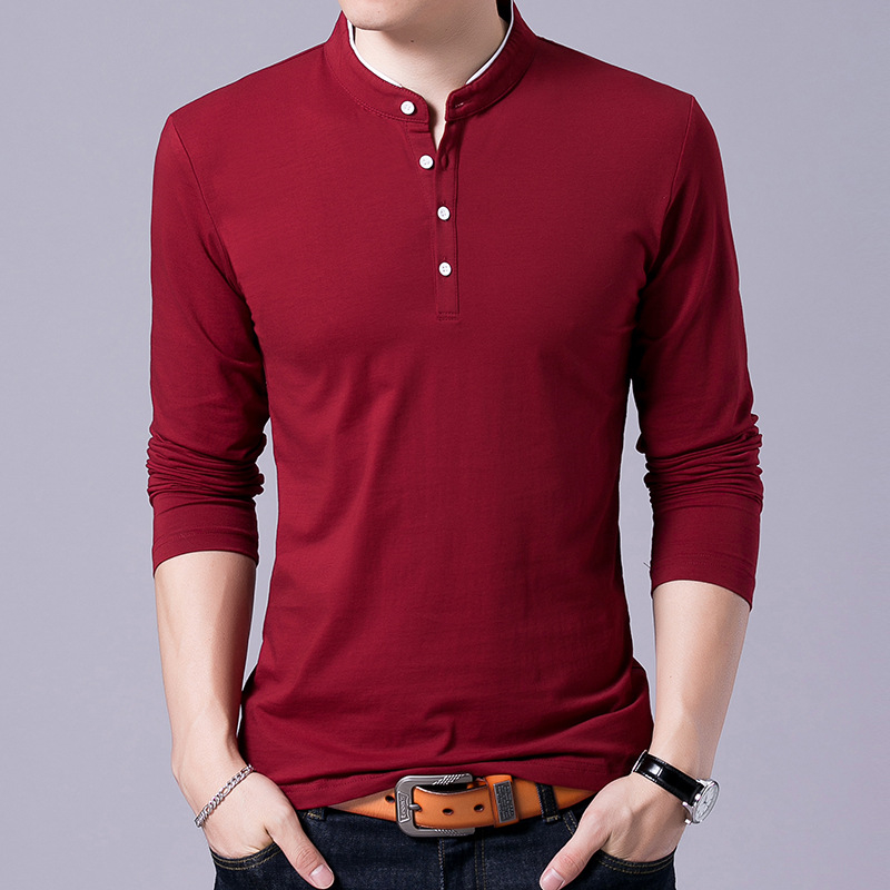ARCSINX Brand Men   Polo   Shirt Slim Fit Big Size Men   Polo   Shirt   Polos   Brand Men's Tee Shirt Black Cotton Long Sleeve   Polos   Man 3XL