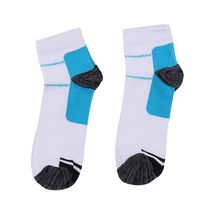 Men and Women Adults Sports Foot White Compression Socks For Plantar Soft Fasciitis Heel Spurs Pain Workout Sock
