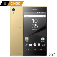 Original Sony Xperia Z5 E6653 Unlocked 3GB RAM 32GB ROM GSM WCDMA 4G LTE Mobile Phone Android Octa Core 5.2 Inch 23MP Camera